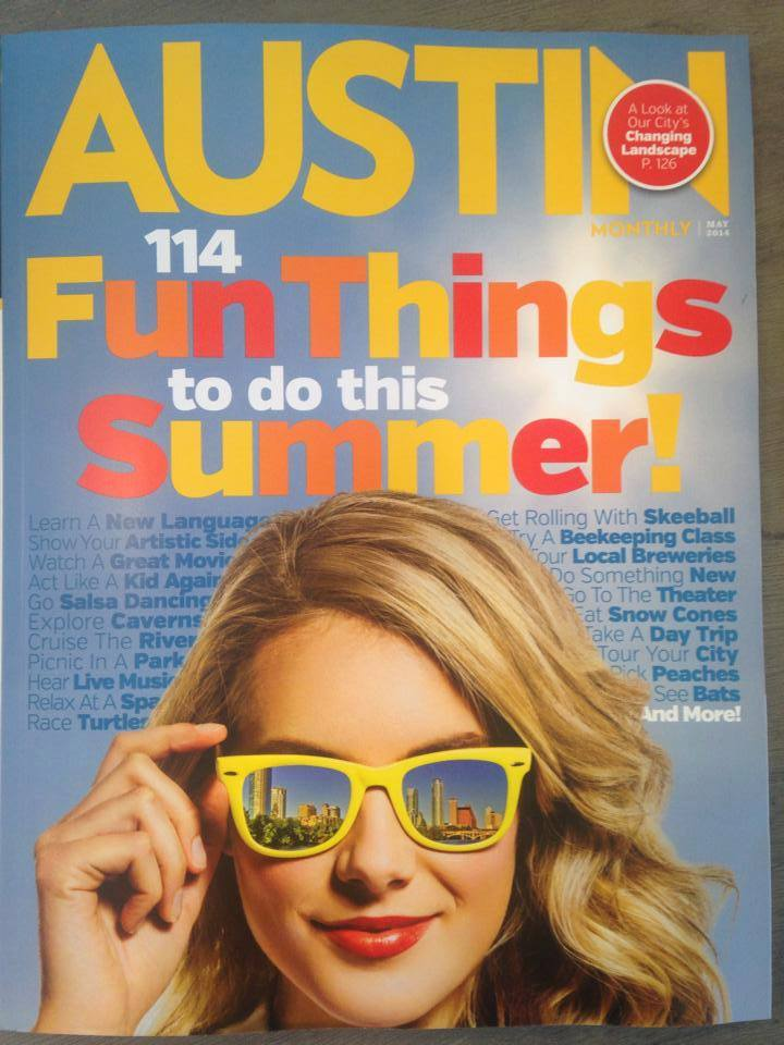 Makeup Class is Featured in 114 Fun Things; Austin Monthly!