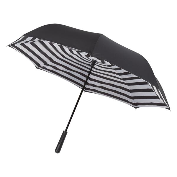 """48"""" Arc Blanc Noir Inversion Umbrella"""