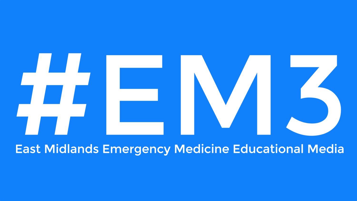 Adult & Paeds Quizzes — #EM3: East Midlands Emergency