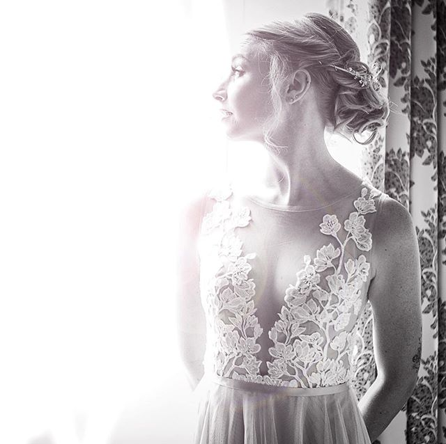 Can't get over this gorgeous gal! That dress! #weddingdress #denverwedding #bride
