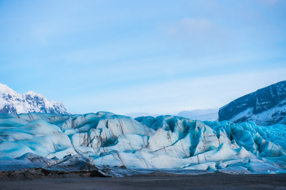 Skaftafell glacier. The water flowing here is the best I've ever tasted.