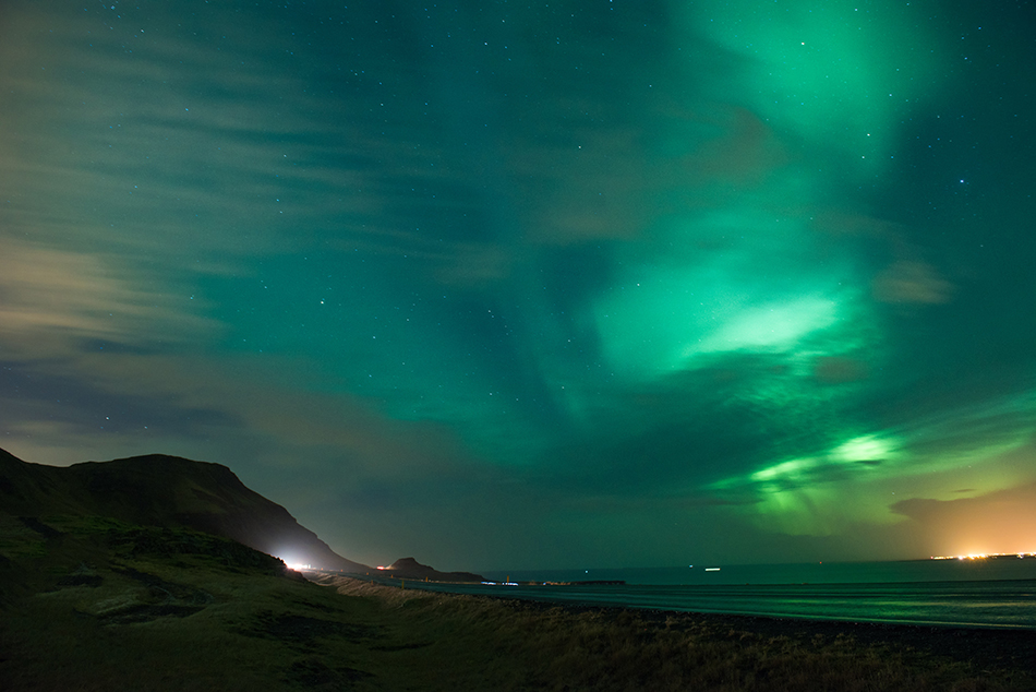 The Northern Lights.