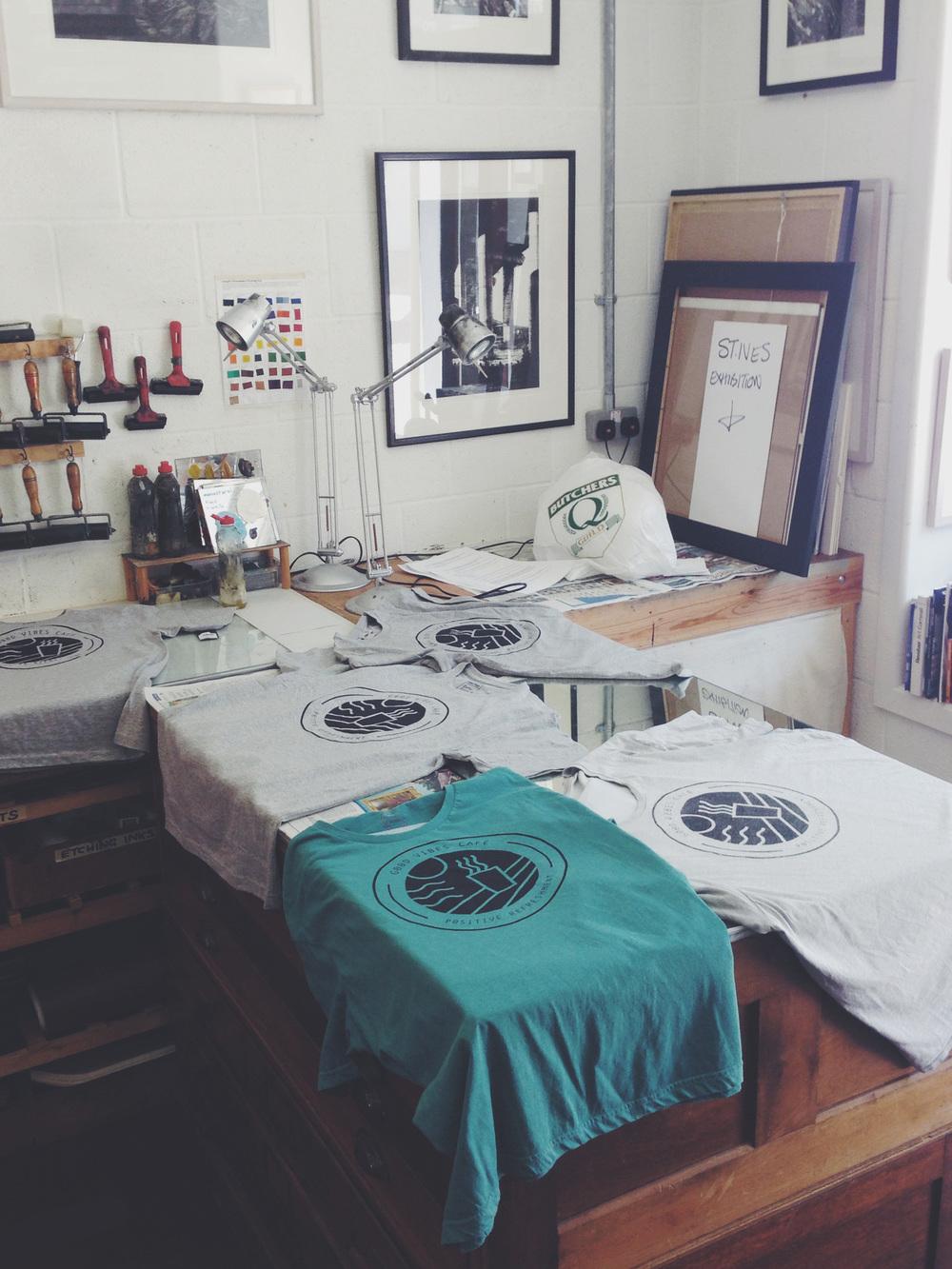 Good Vibes T-shirt Design