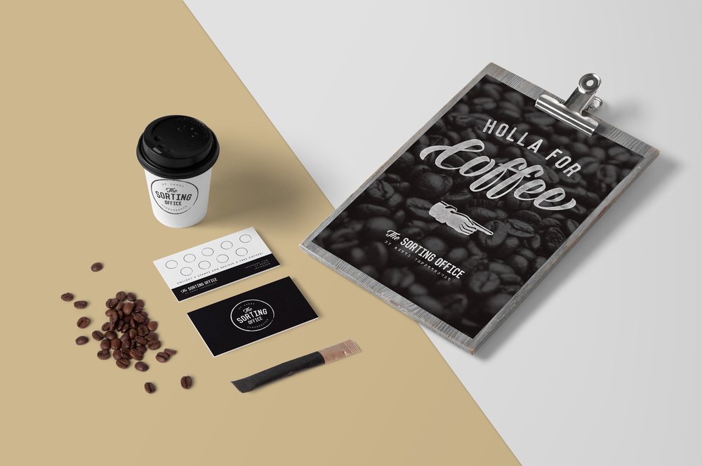 Trendy Cafe Branding