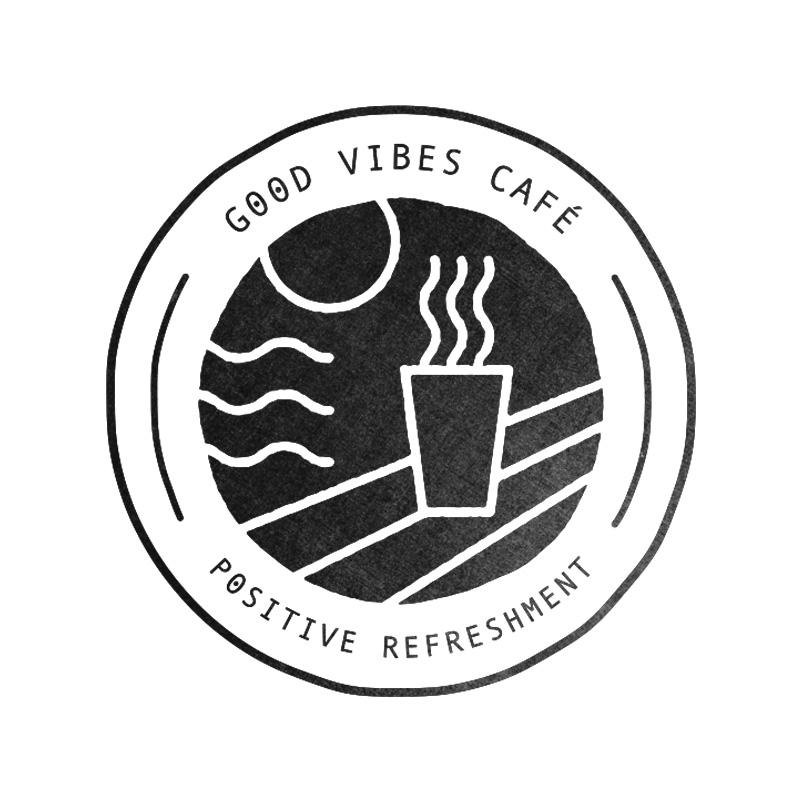 Good Vibes Cafe Logo Design