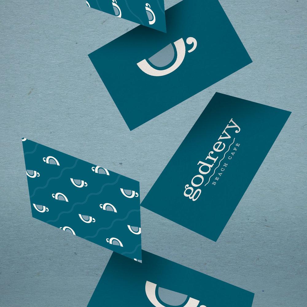 Godrevy Cafe Loyalty Card Design
