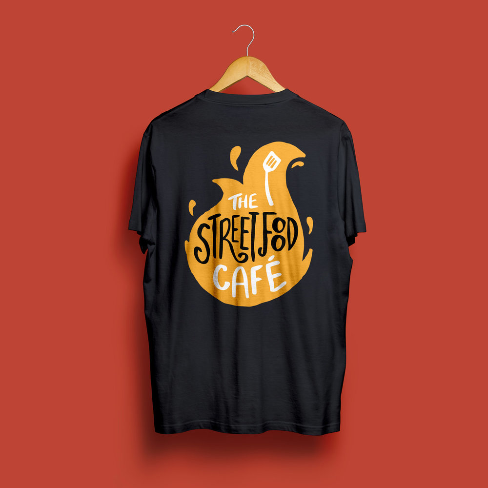 Street Food Cafe Tshirt