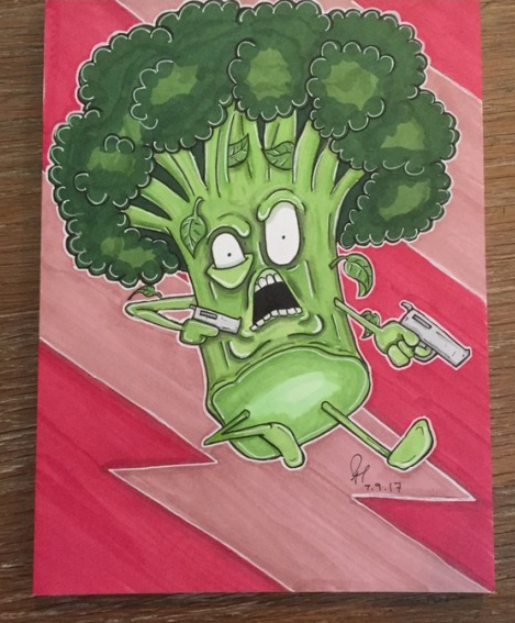 Action Broccoli