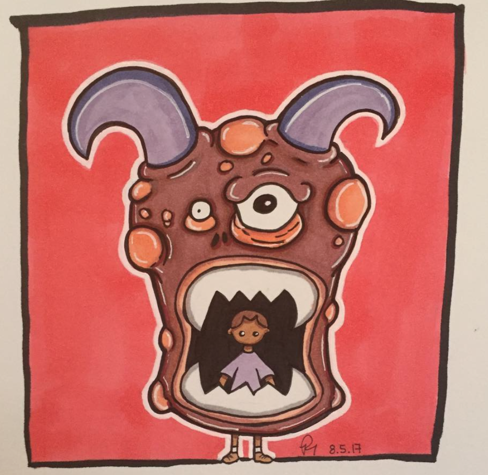 Untitled children's book illustration II