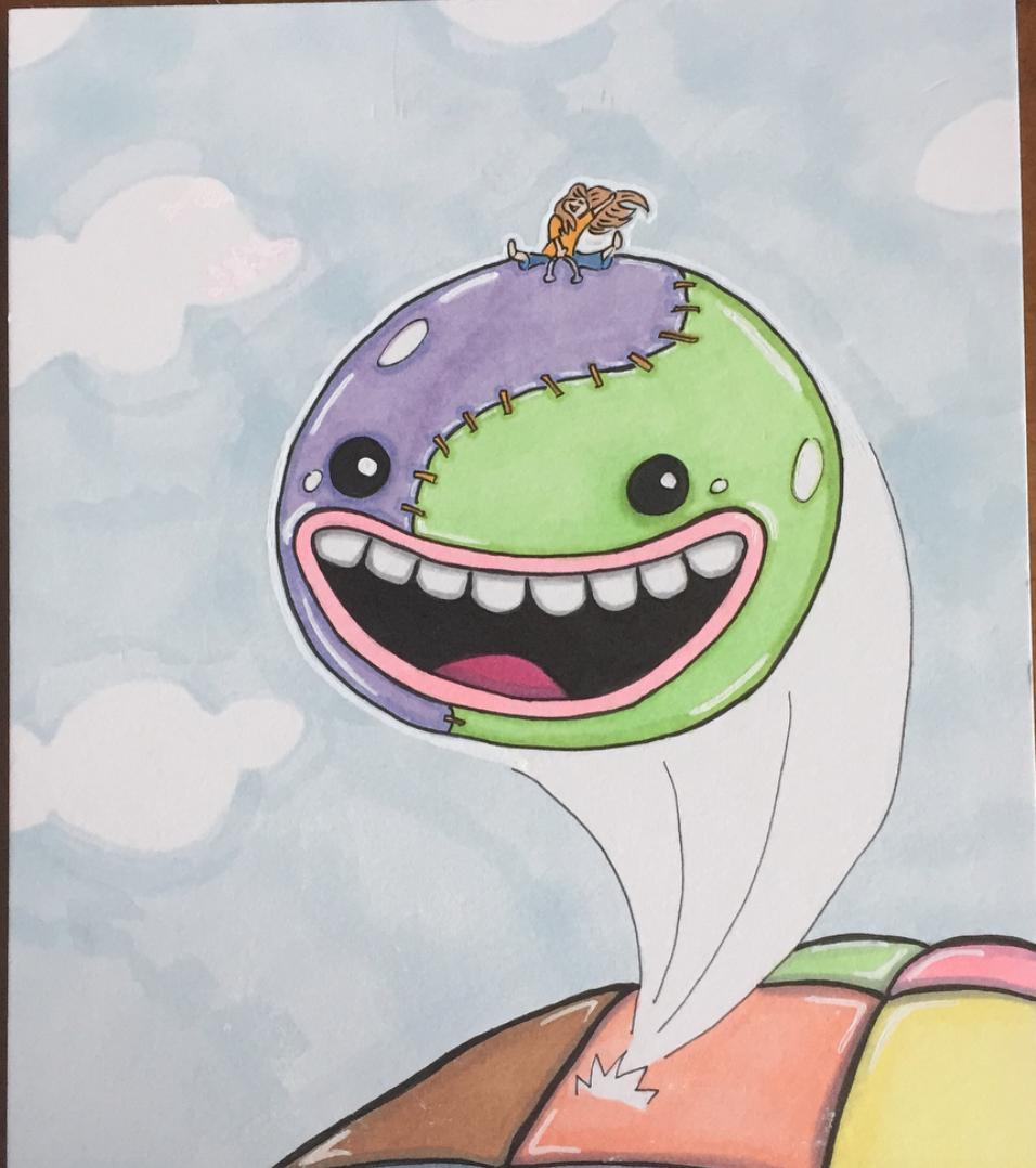 Untitled children's book illustration IV