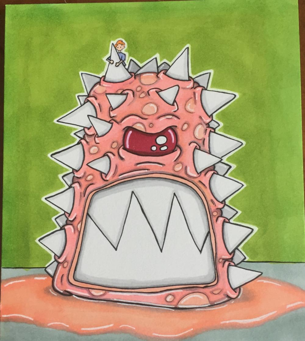 Untitled children's book illustration VI
