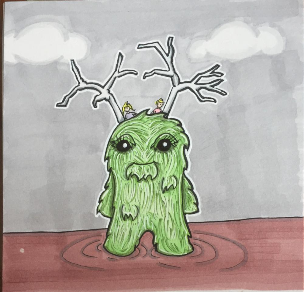 Untitled children's book illustration IX