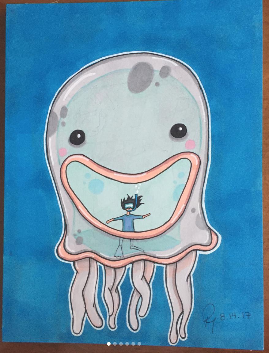 Untitled children's book illustration X