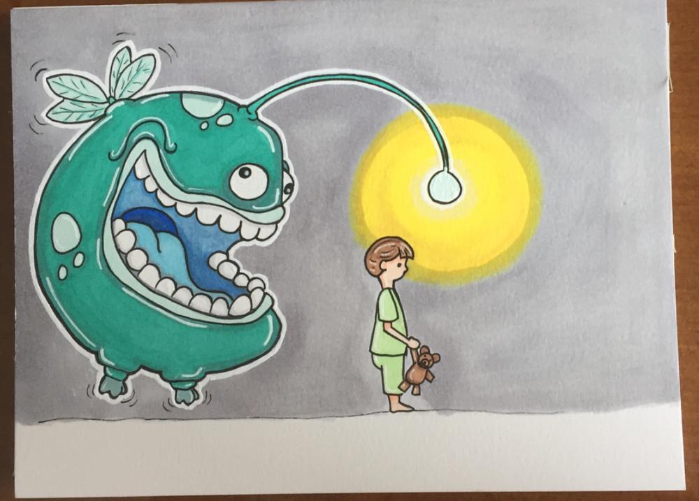 Untitled children's book illustration XI