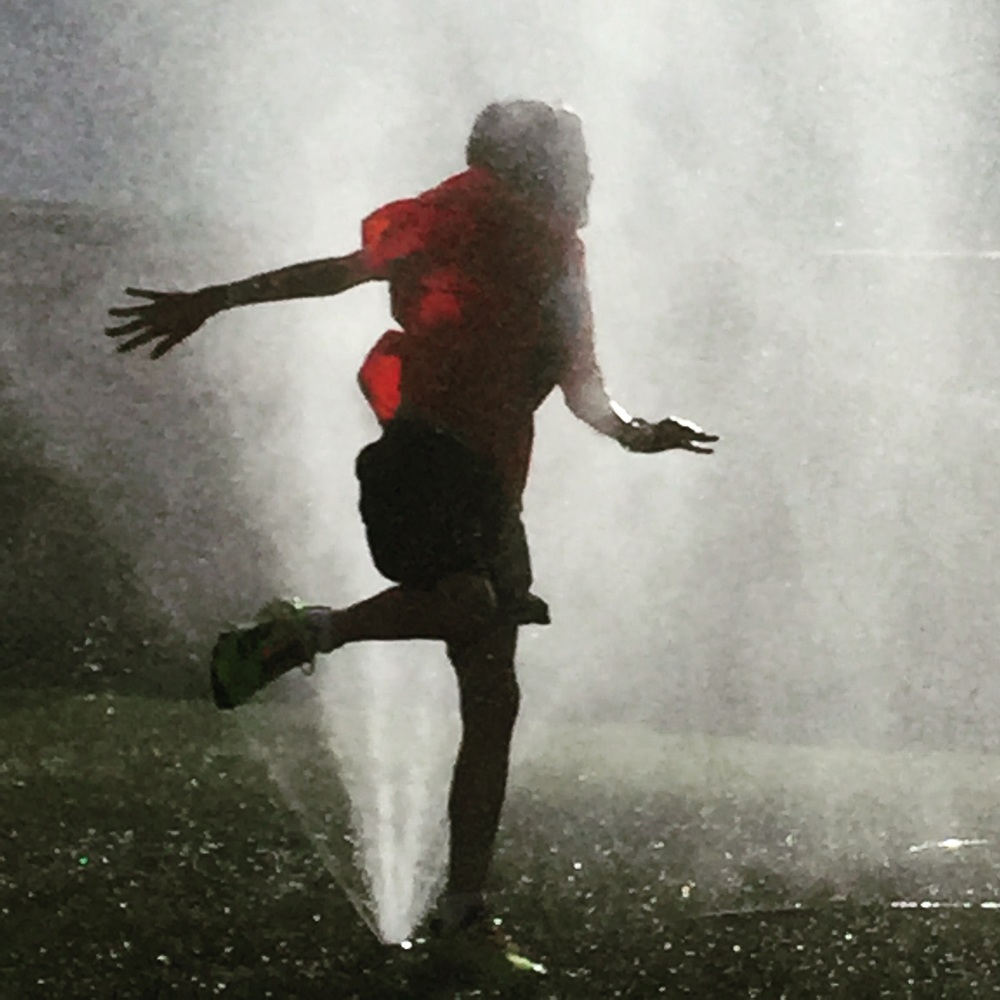 Sprinkler fun.