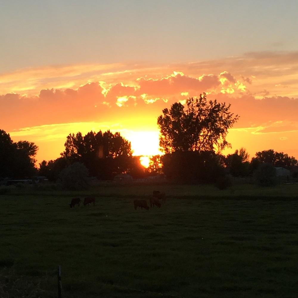 Sunset, Blackfoot, Idaho
