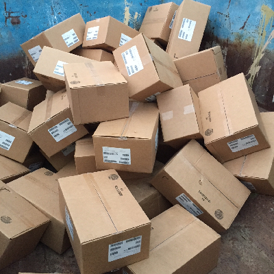 This is what you get when you get your rights back for your book: boxes of unsold inventory.