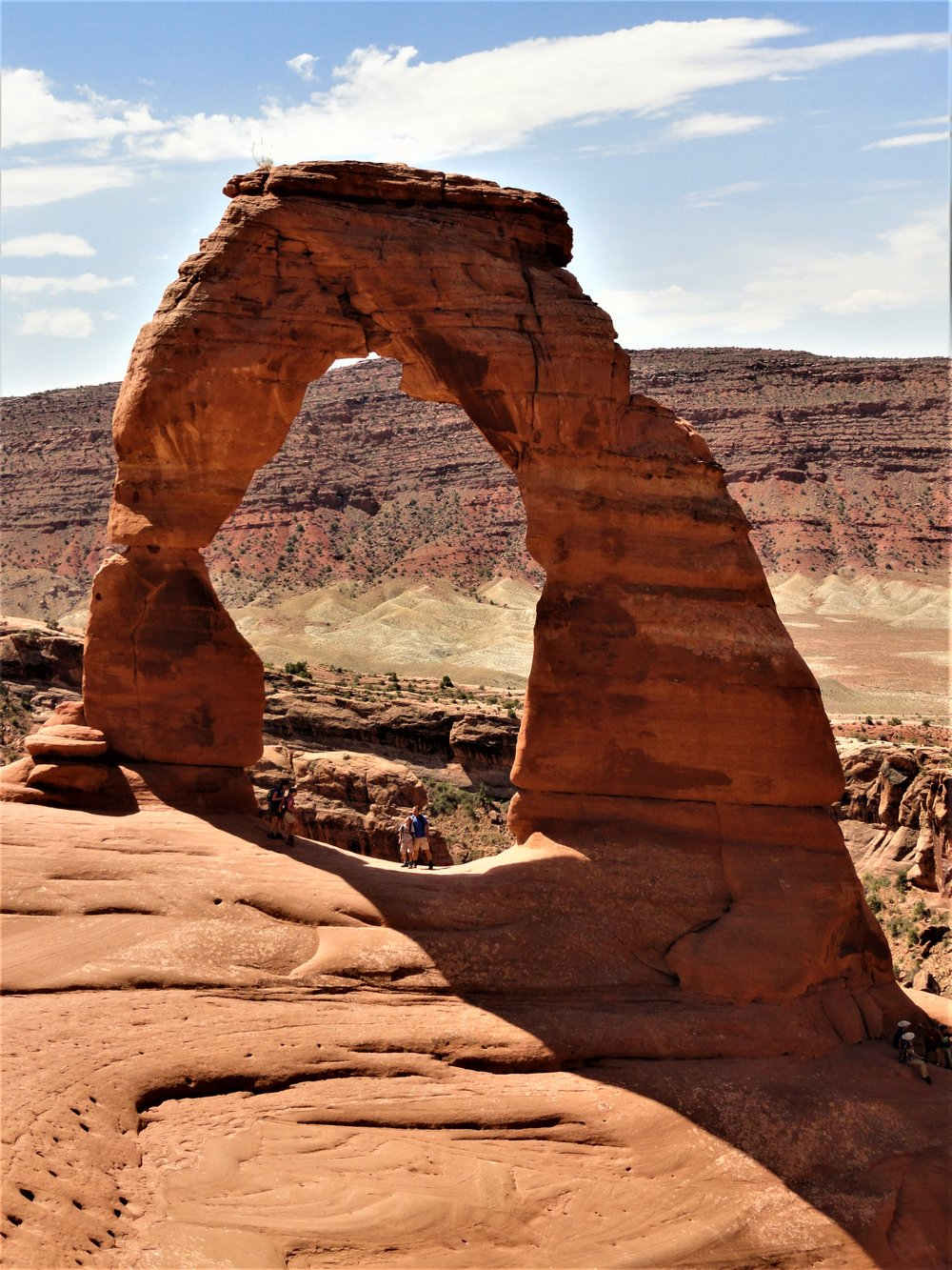 Delicate Arch, Arches National Park, Utah. June 15, 2018. Photo by Abel Keogh