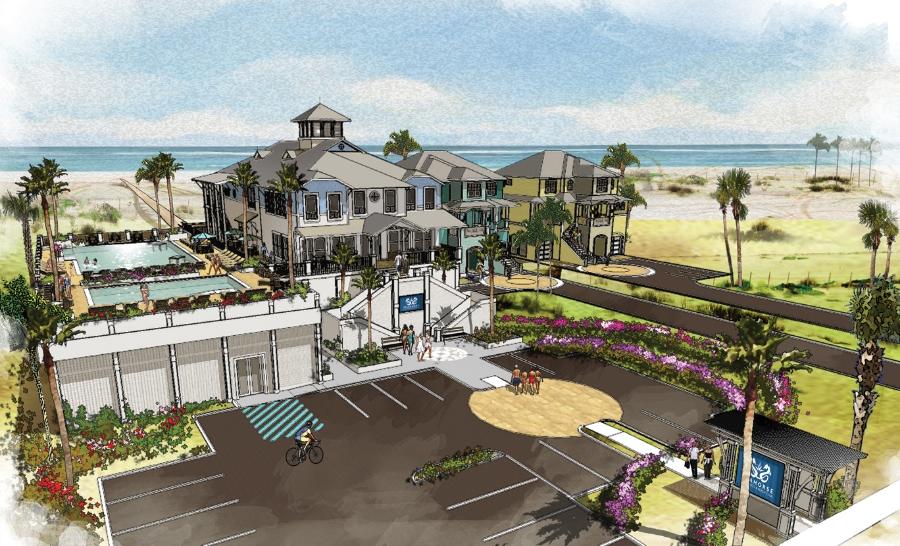The Seahorse Beach Club, Front