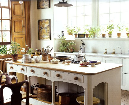 English kitchen love