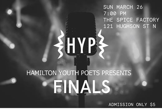 Tonight is the night - poetry will fill the room and hearts of all those involved. the best of the best in Hamilton poetry will be present and competing to be crowned the Hamilton Grand Slam Champ. Join for breathtaking night welcoming in the new 2017 slam team of Hamilton! Featuring artist KOMI OLAF!  DOORS: 6 pm  SLAM: 7 pm Entrance only $5!  Komi Olaf is a visual artist and spoken word poet, born in Kaduna, Nigeria. His love and obsession with art and self expression from an early age led him on dynamic journey of self discovery through Architecture, art and poetry . After receiving his Master of Architecture degree in 2009 , he began to develop his artistic practice as a self-taught artist working in the e... See Mo