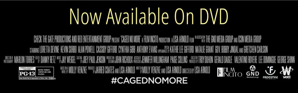 1611ba0032fd93 Theater Showtimes — CAGED NO MORE Movie
