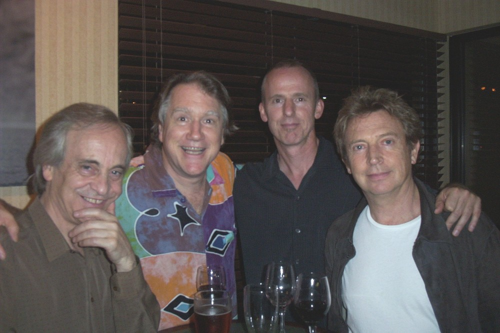 From left: Paco Peña, Benjamin Verdery, John Dearman, and Andy Summers