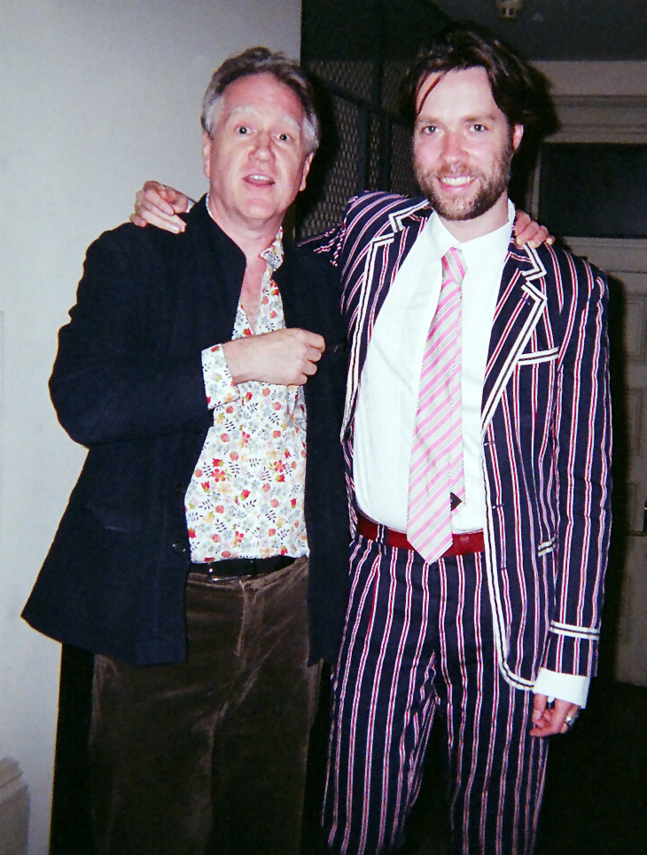 Benjmanin Verdery with Rufus Wainwright