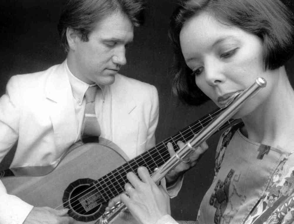 Benjamin Verdery and Rie Schmidt