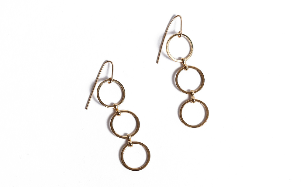 Here is the Babbie earring, your gift for your loyalty. Follow the checklist below in order to become a Myrna Halpern Jewelry fanatic. Your gift will be included with your purchase.   CHECKLIST........... JUST TWO STEPS. DEADLINE IS NOVEMBER 1, 2015.   *Visit the website and make an online purchase.  On the website you will see all our social media links.   *Follow us on Instagram, like our Facebook Page or follow us on Pinterest.    *Congrats, you will then automatically become a Myrna Halpern Jewelry fanatic and receive a pair of Babbie earrings.  *Happy cyber shopping. We appreciate your business very much!