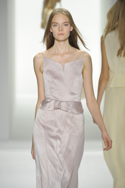 Calvin Klein's spring runways were teaming with this same lingerie look. Slip dresses were everywhere.