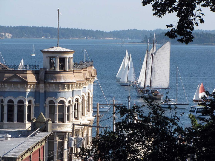 Since 2006 I have spent my summers in Port Townsend, Washington, a Victorian seaport and artist community situated at the tip of the Olympic Peninsula. At my summer studio on a bluff overlooking Port Townsend Bay I can view both the Olympic and Cascade Mountains. In the distance is the mouth of Puget Sound where it opens to the Strait of Juan de Fuca, just below the San Juan Islands. This is the perfect environment to sketch, plan and create.