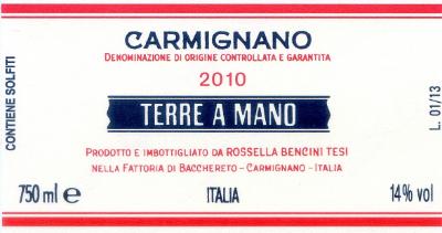 Traubensorte75% Sangiovese 15% Canaiolo 10% Cabernet S. WeinbeschreibungAusbau: 18 Monate in Tonneaux (350 l), 3 Monate in Zementfässern und 6 Monate in der Flasche