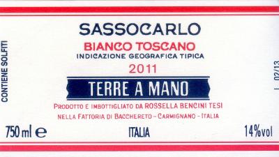 Traubensorte90% Trebbiano toscano 10% Malvasia lunga Späte Lese (Mitte Oktober), vier Tage Maischegärung, 18 Monate in Tonneaux (350 l) und 6 Monate in der Flasche