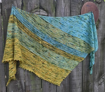 The International Peace Park shawl available on Ravelry