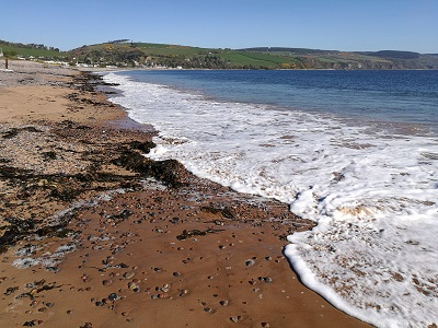 Fortrose Beach and Black Isle coastline