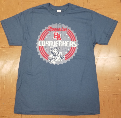Vintage Blue Cornjerker T-shirt- $18.00