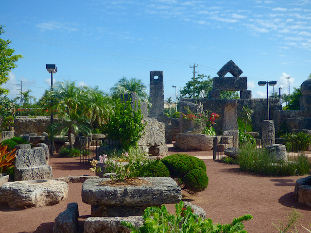 The coral castle in florida built by  Ed Leeskalnin . Born in Riga, Latvia in 1887 to a family of stonemasons, Ed immigrated to the U.S. sometime around 1913 after his fiancée broke off their engagement.  He  built this amazing playground for her.