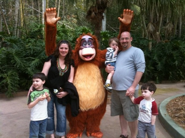 One of our first family vacations!