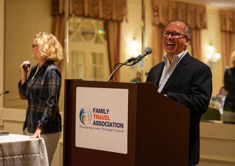 Kelli Carpenter and Gregg Kaminsky of R Vacations