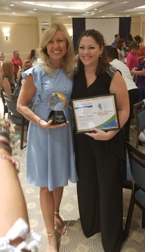 Kristin Karst of AMA Waterways and Nicole Thibault of Magical Storybook Travels and Spectrum Travel Social Story Videos