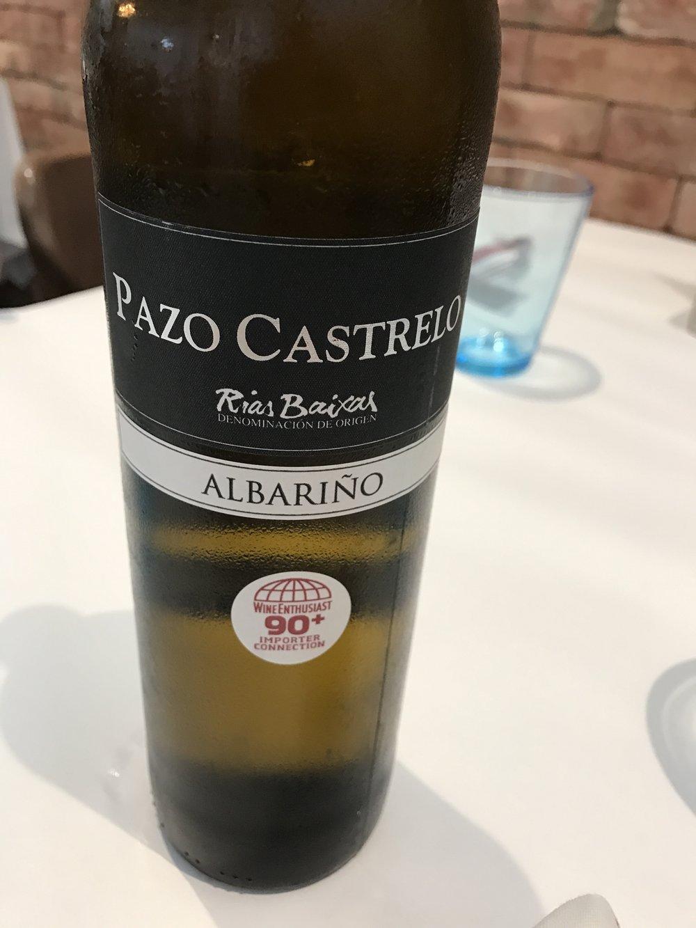 2015 Pazo Castrelo, Albarino