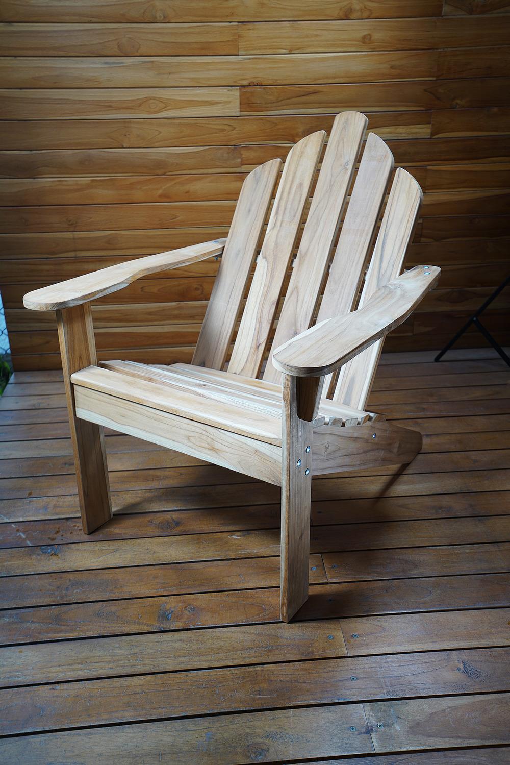 Teak adirondack chairs beautiful teak adirondack chairs for Outdoor furniture virginia beach
