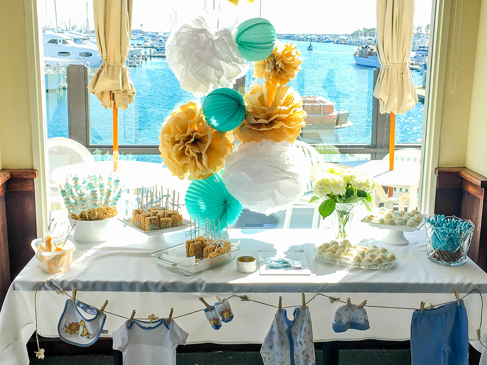 Baby Shower Banquet - Waterfront View