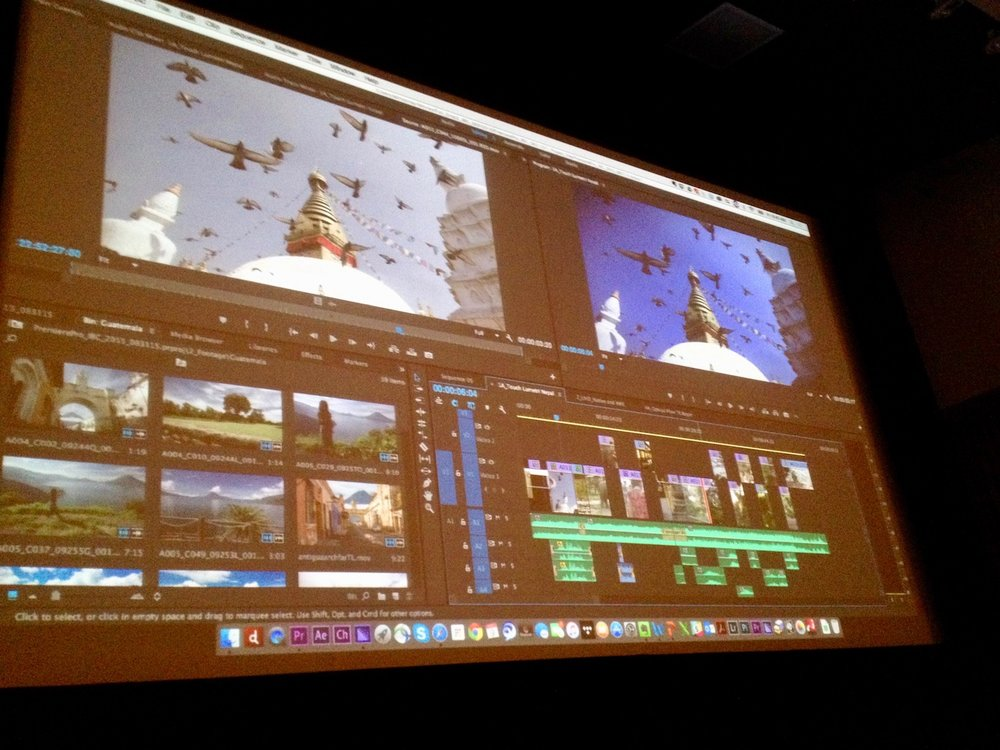 Getting to the heart of post-production in Columbia College Chicago's Film Row Cinema
