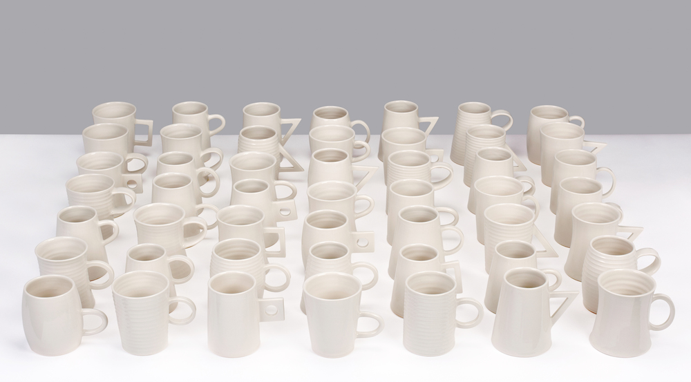 An Edition Of Fifty Mugs photographed by Jeremy Johns.