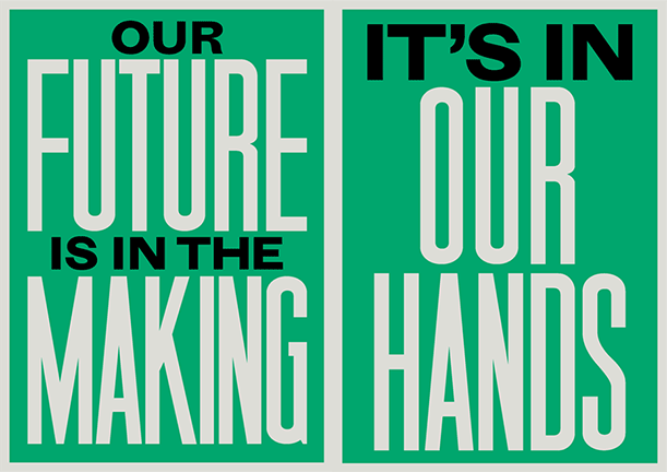 Artwork designed by Anthony Burrill.