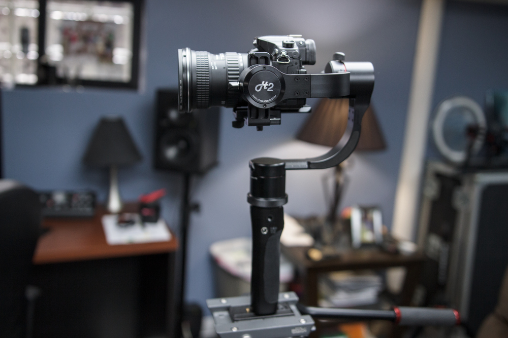 Pilotfly H2 gimbal with GH4