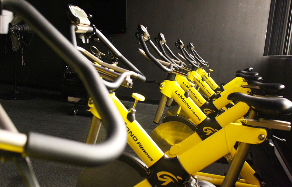 Spin Cycle Room  - 15 LeMond Fitness bikes