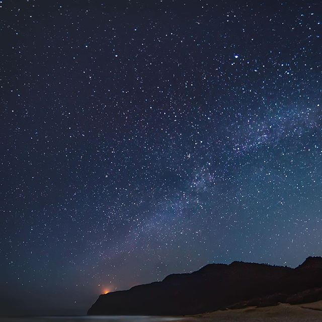 Five shot panorama of the milky way! Go to gallery to see the entire shot. .  #expandyourplayground  #umyea #instagood #instadaily #intotheelements #optoutside #stars #hi  #landscape #canon #canon_official #beach #neverstopexploring